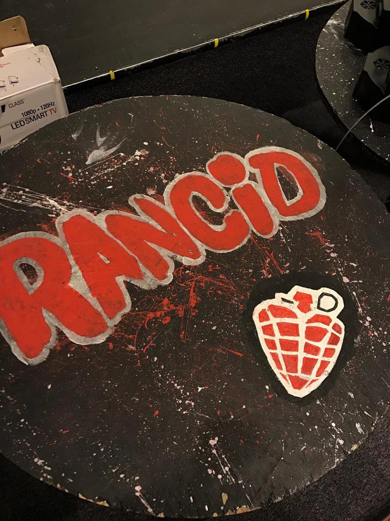 Punk Bar Table 1: Green Day by greenpandaninja