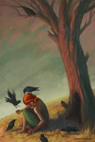 The Seven Ravens by LevonJihanian