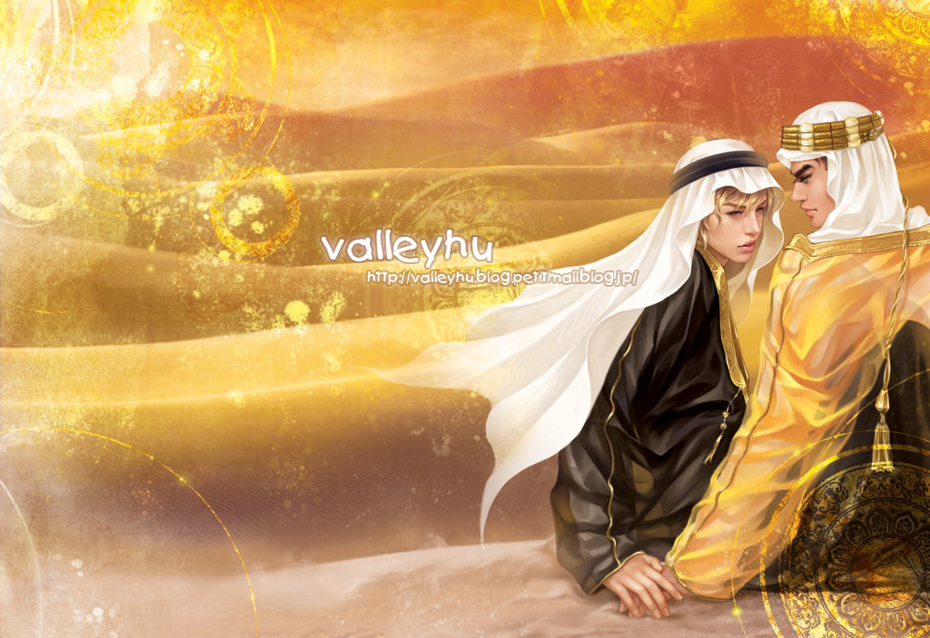 the long kiss' desert by valleyhu