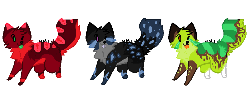 New adoptables ouo Cheaper! by Lalaloraa