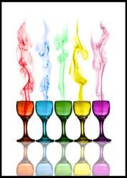 Smoki'n Colors by dukeofspade