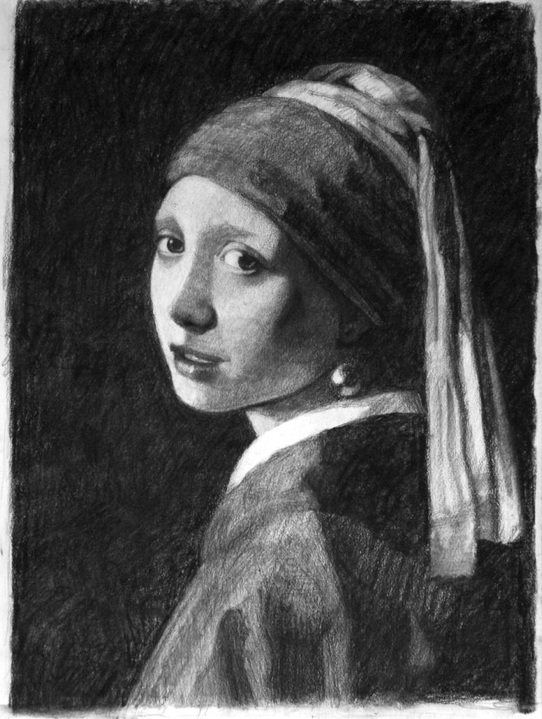 'Girl with the pearl earring' by elldog00