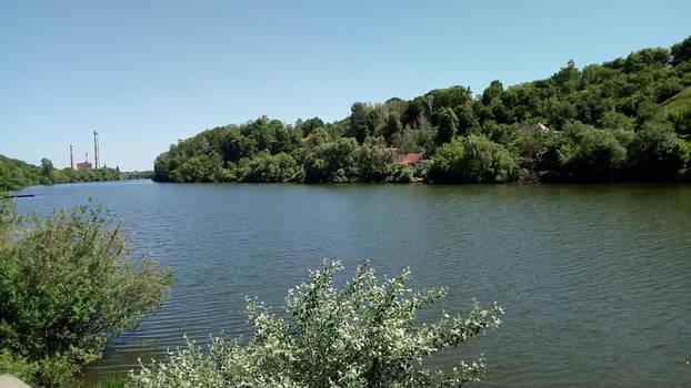 The Teterev River
