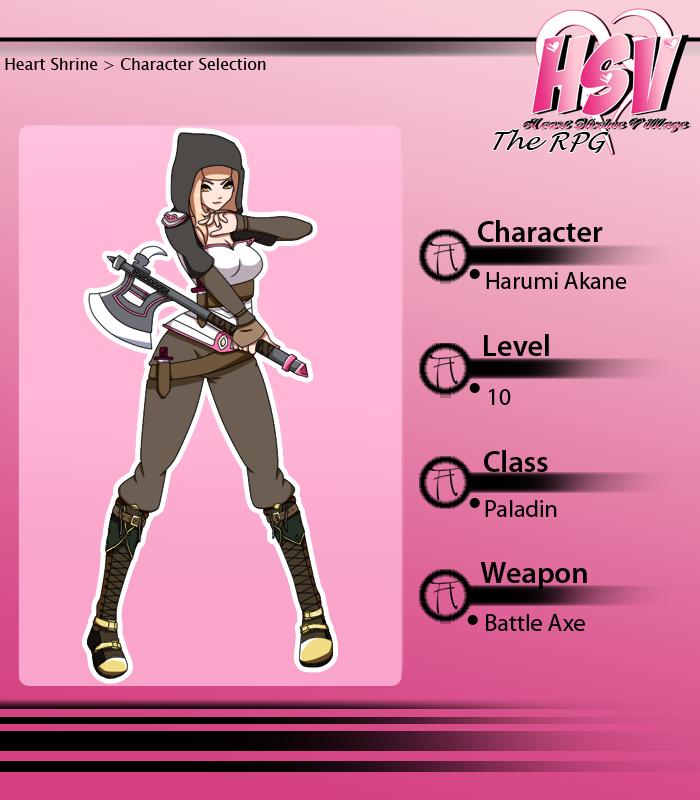 Harumi Akane - RPG Profile by PeanutHime