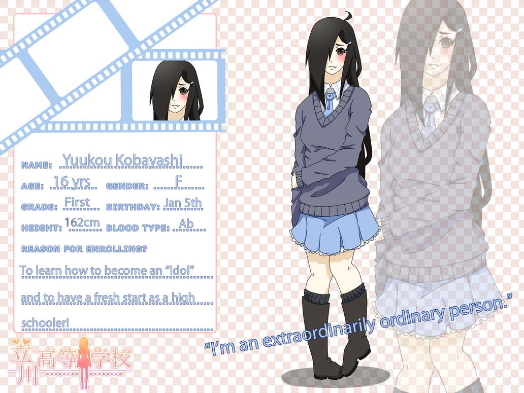 Tachikawa High Application - Kobayashi Yuukou by PeanutHime