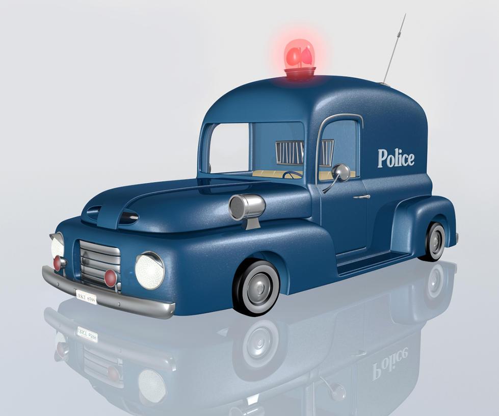 Cartoon Police Car By Ventapane On DeviantArt