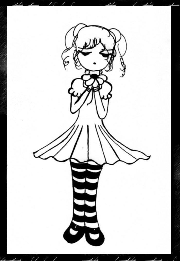 Little Sad Girl by starlightx on DeviantArt