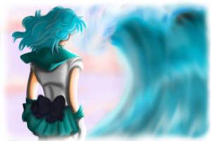 Sailor Neptune by ZodaFalcon
