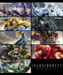 Transformers favourites by Crystal119 on DeviantArt