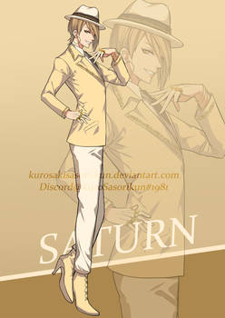 Saturn - Solar system personification