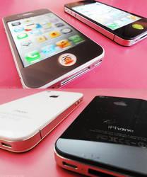 Iphone white vs Iphone Black