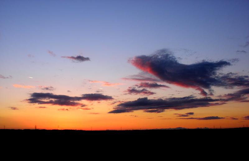 Fluffy sunset by monikabuz
