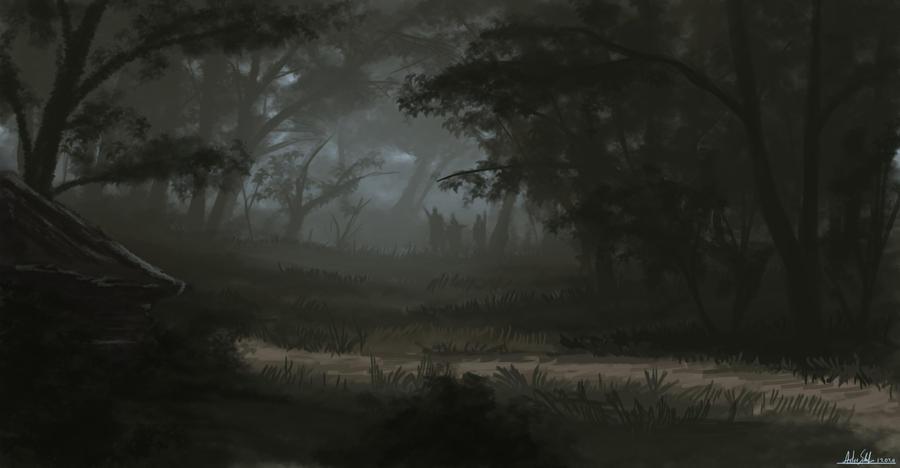 The Sad Forest By Landscaperunner On Deviantart