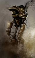 Nice steam robot