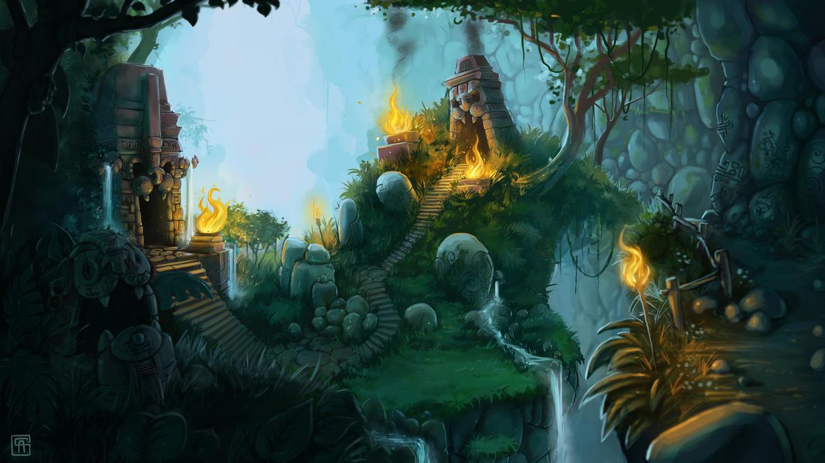 Jungle... by LandscapeRunner