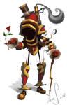 Romantic Steampunkrobot