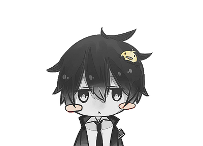 Hibari and Hibird Chibi Render (KHR) by Feary-Bad-Day