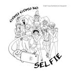 Gomu Gomu no Selfie (lineart only)