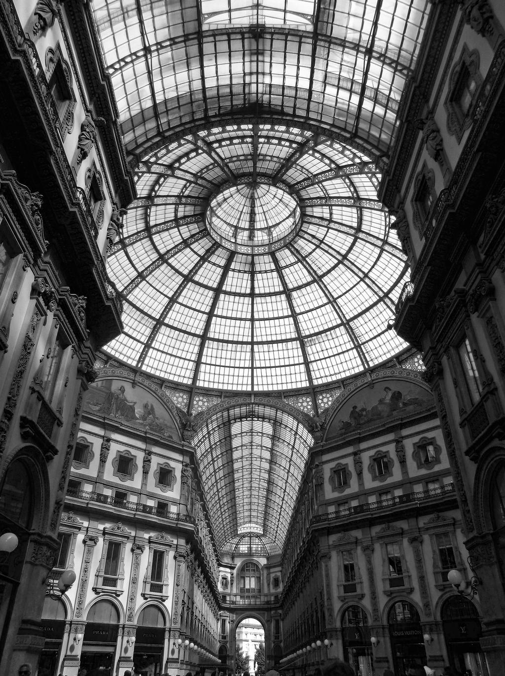 Galleria Vittorio Emanuele II - Milano by Amygurumi