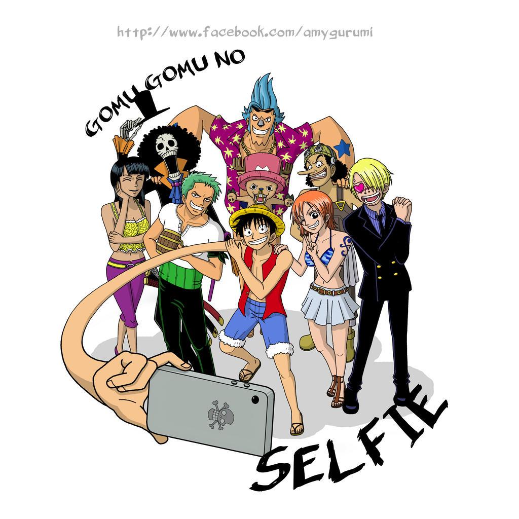 Bevorzugt Gomu Gomu no Selfie! One piece fan art by Amygurumi on DeviantArt RY48