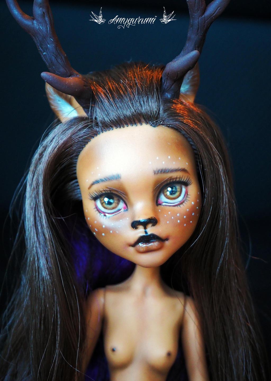 Monster High Ebay >> Fawn custom doll - Monster high Clawdeen Wolf by Amygurumi on DeviantArt
