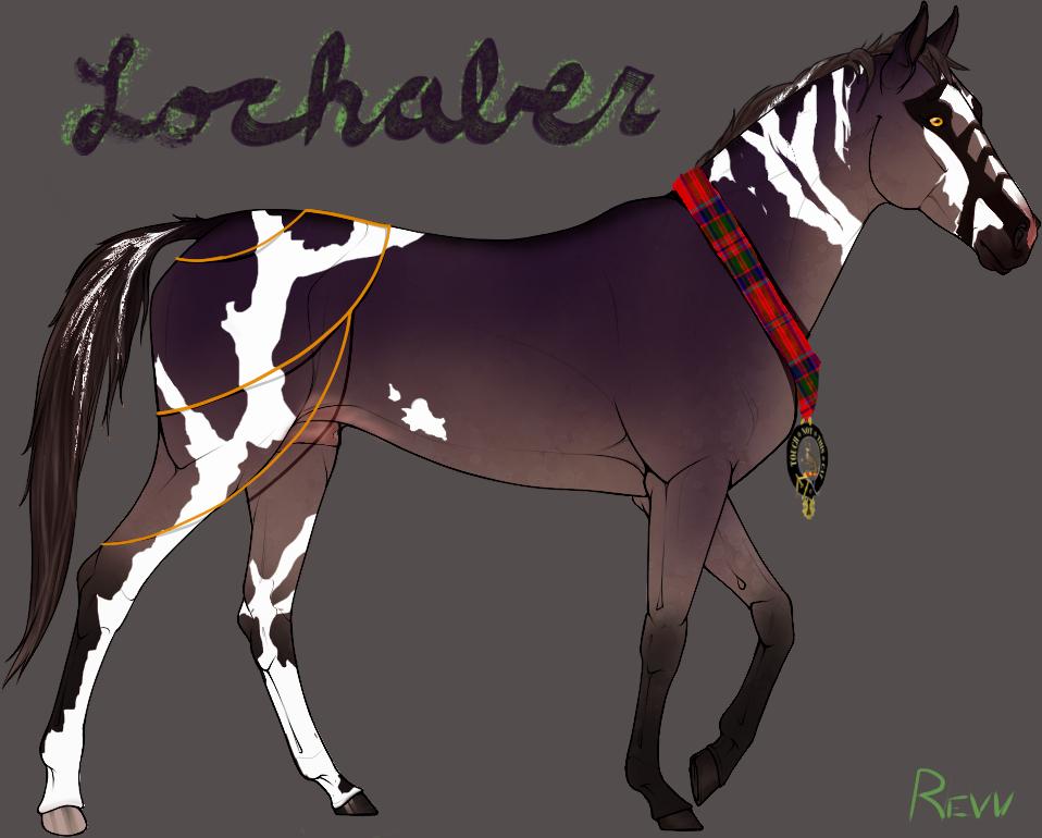 Lochaber - Teke Character by Autaluna