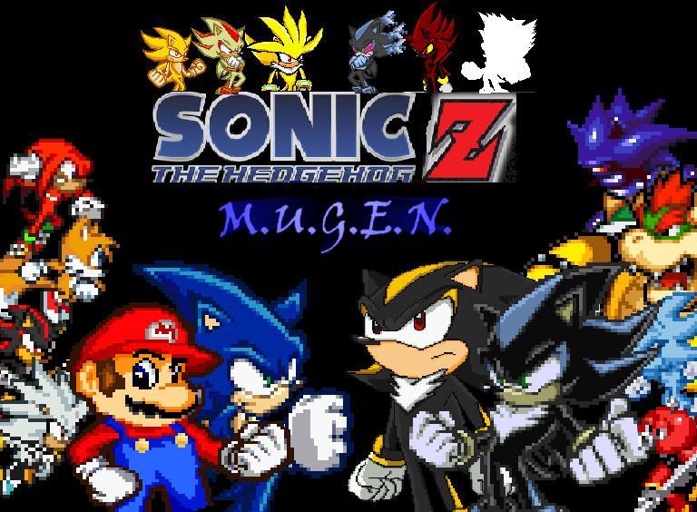 Mugen Sonic Battle 1 - YouTube
