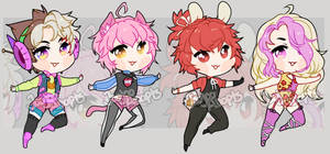 Chiblet adopts (open)