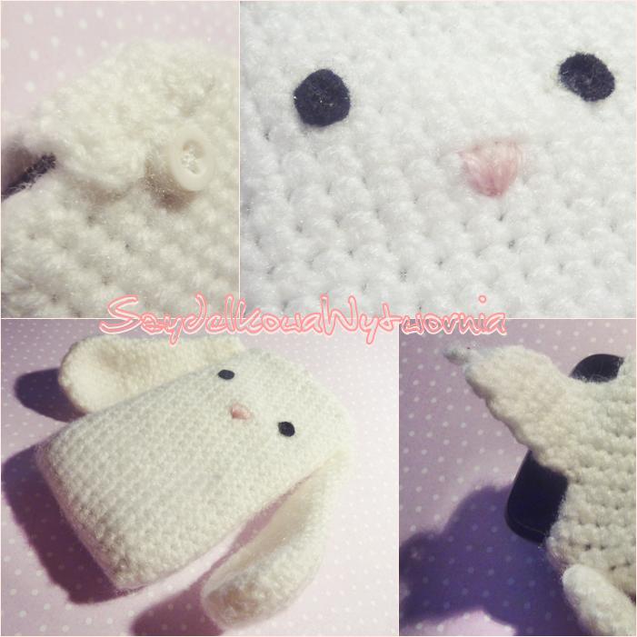 Bunny phone case by Ulvkatt