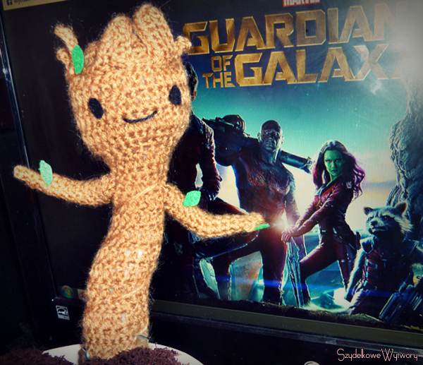 I am Groot! - baby GotG amigurumi Groot toy! by Ulvkatt