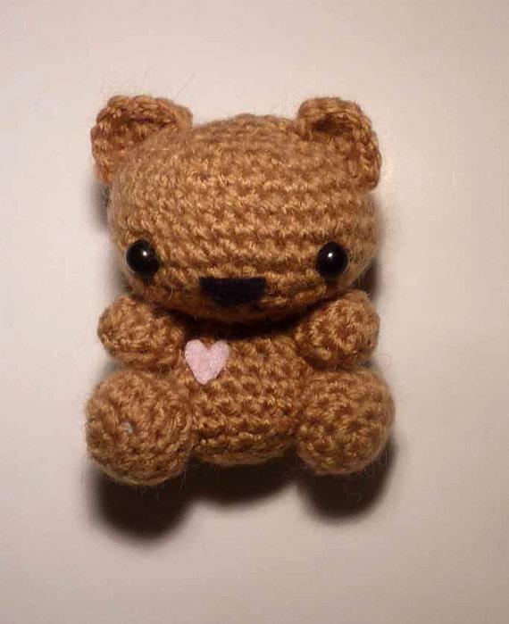 Cute amigurumi tiny teddy bear by Ulvkatt on DeviantArt