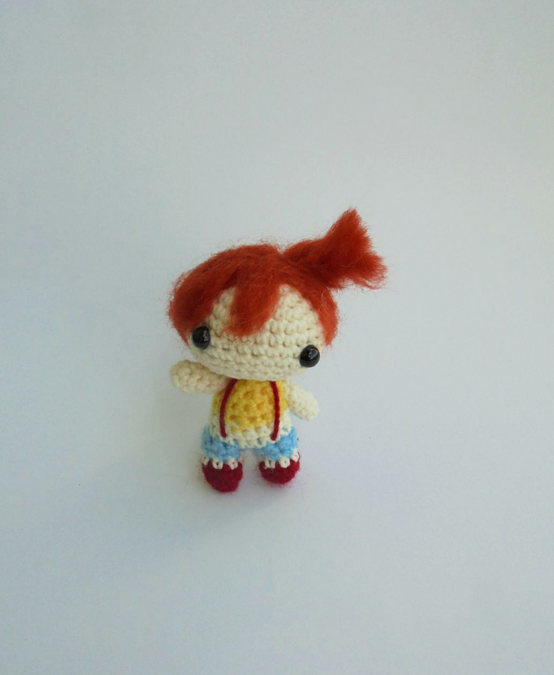 Chibi Misty - miniature amigurumi Pokemon Go doll by ...