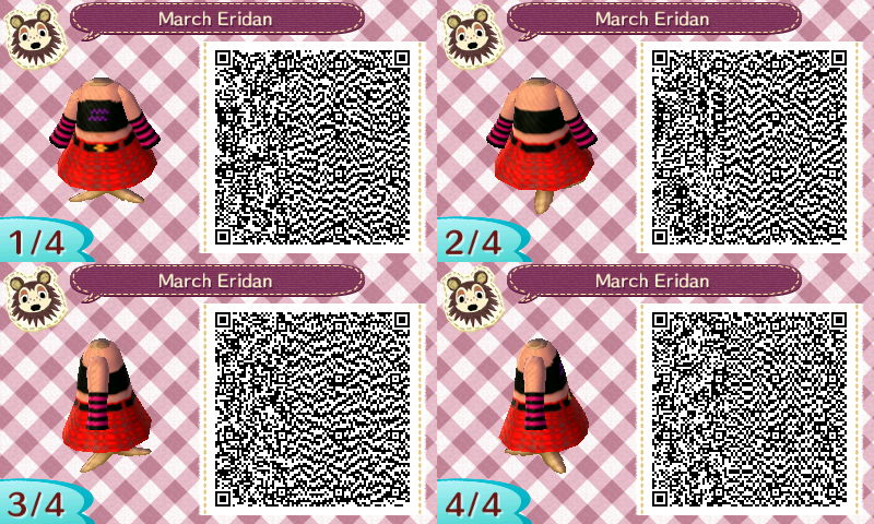 march eridan QR codes by wallymyiguana