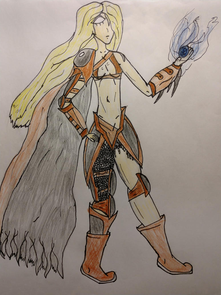 Sorceress by MircoBoard