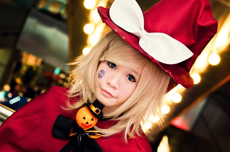 Vocaloid : Trick and Treat Rin by anicegirlxD