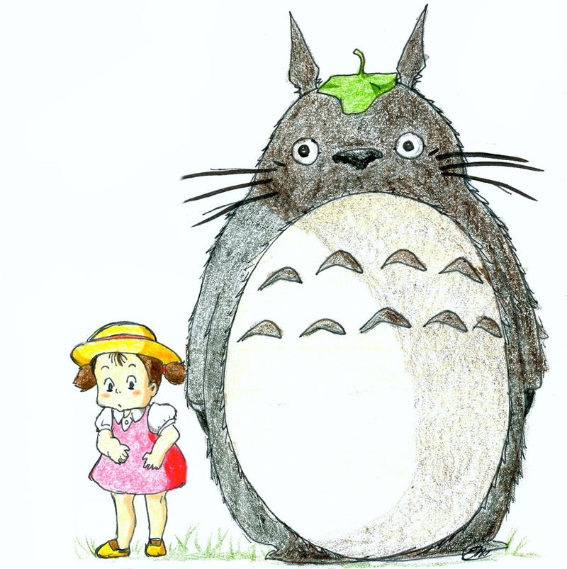 Totoro by Skyfurrow