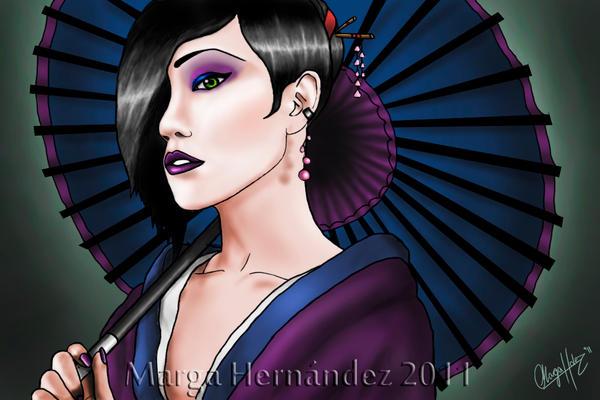 Violeta by Fiskitito