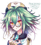 Sucrose Glasses Genshin Impact - Fanart