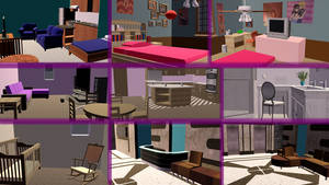 [MMD] Apartment and lobby DOWNLOAD