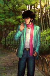 Yasuo: My imaginary friend 2 by BanishedPrince