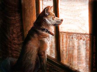 Waiting for Yasuo by BanishedPrince