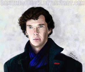 Sherlock Portrait by BanishedPrince