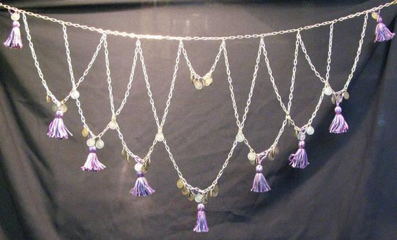 Violet Tassels