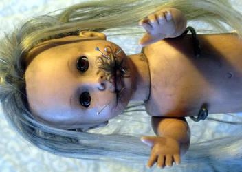 Creepy Doll Jenny Black