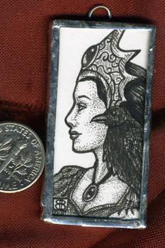 Raven Keeper Mini Art Jewelry