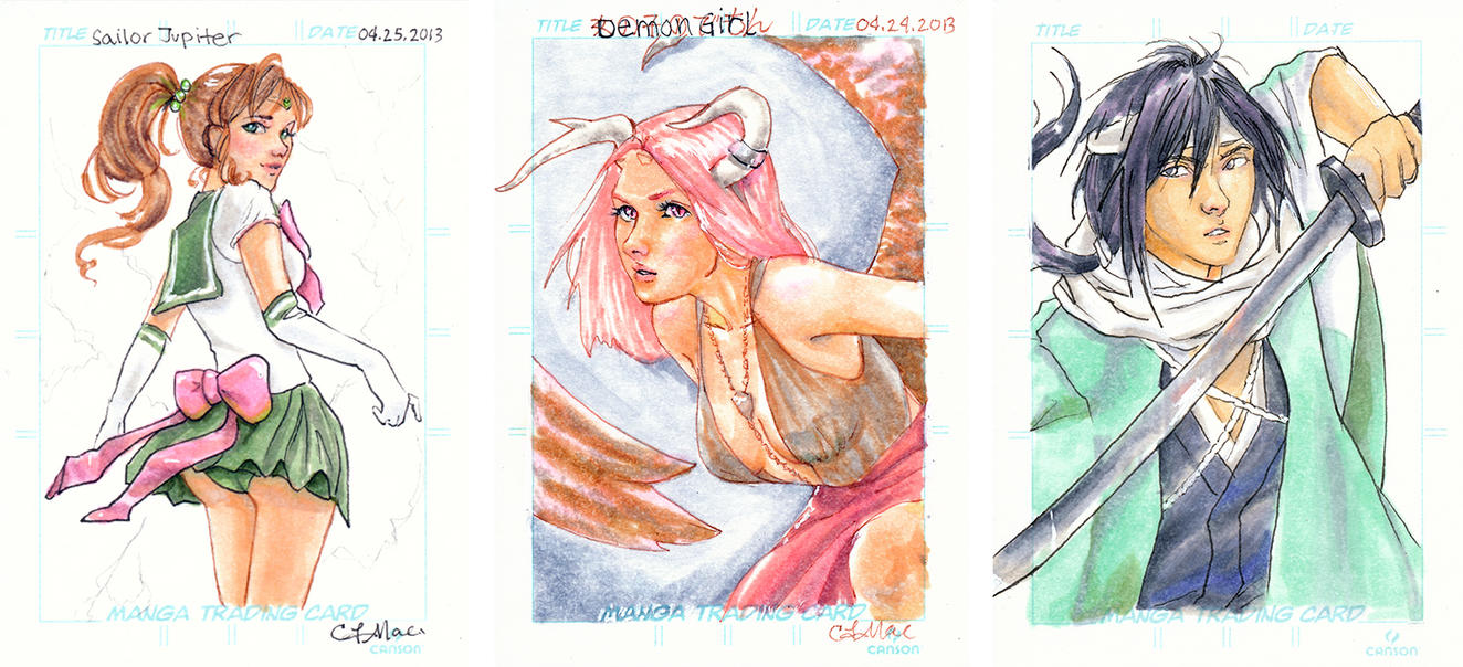 Artis Trading Cards by CLMac