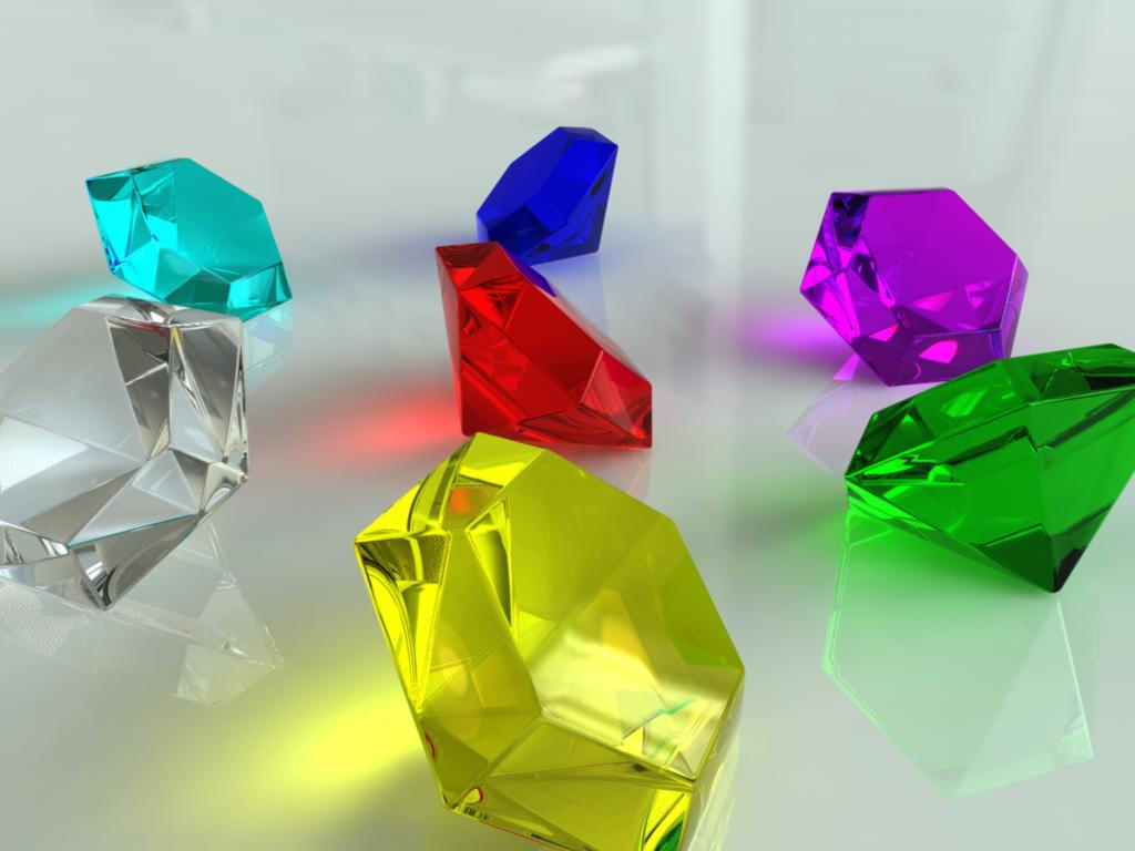 the seven chaos emeralds by ro bo on deviantart