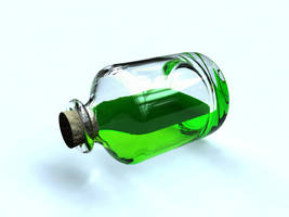 medicine vial -WIP- by Ro-Bo