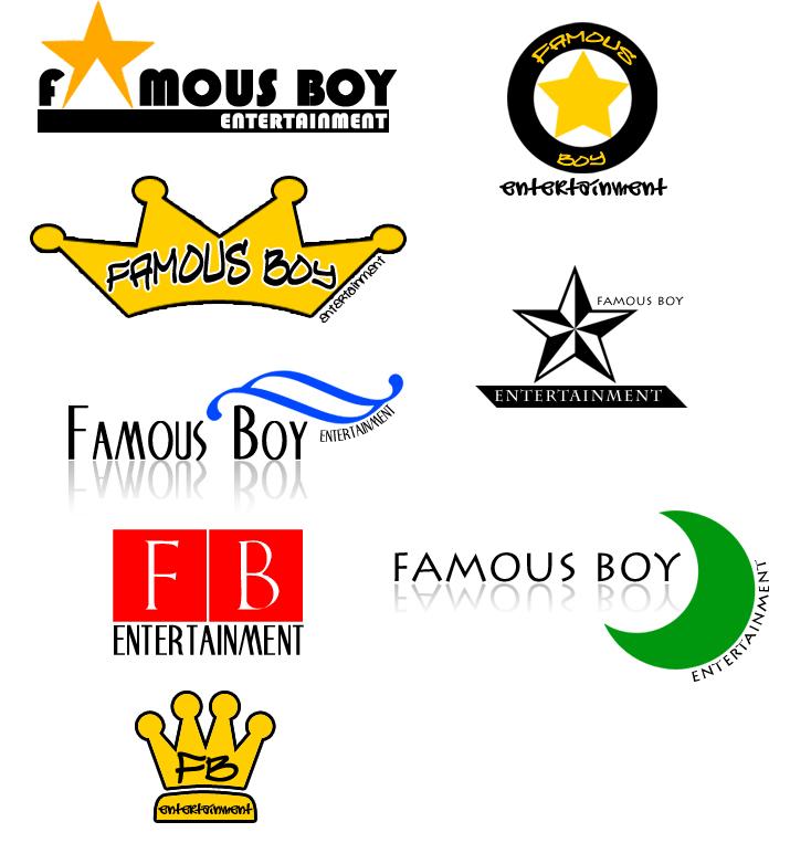 Famous Entertainment Logos Famous Boy Entertainment Logos