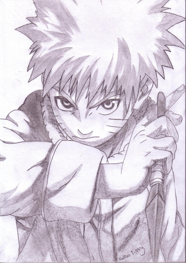Http Tipster360 Deviantart Com Art Naruto Sketch Completed 82131788